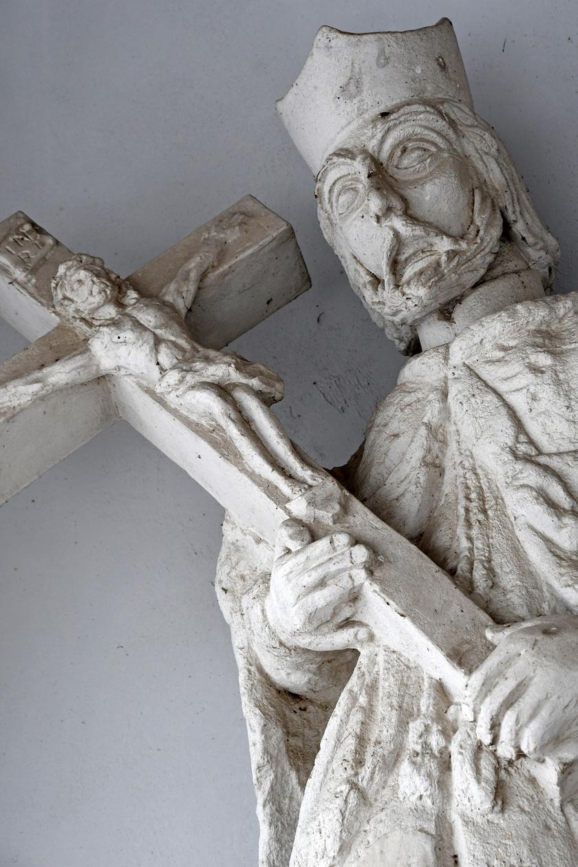 Apácatorna, Nepomuki Szent János-szobor 2021 11