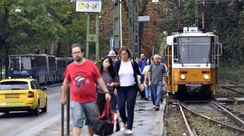 Összekaptak a megállókon, káosz egy budai villamosvonalon