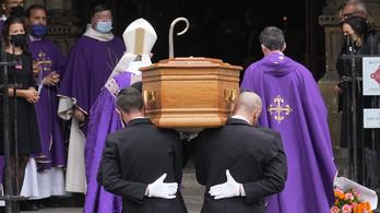 Így temették el Jean-Paul Belmondót