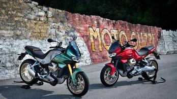 Végre itt az új Moto Guzzi, a V100 Mandello