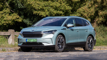 Teszt: Škoda Enyaq iV 80 – 2021.