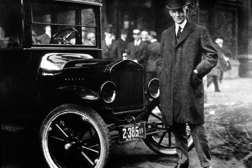 Henry Ford és a legendás T-modell