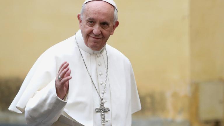 Ferenc pápát magánorvosa is elkíséri budapesti látogatására