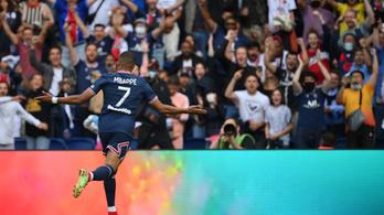 A Messiék nélküli PSG is gálázott a rangadón
