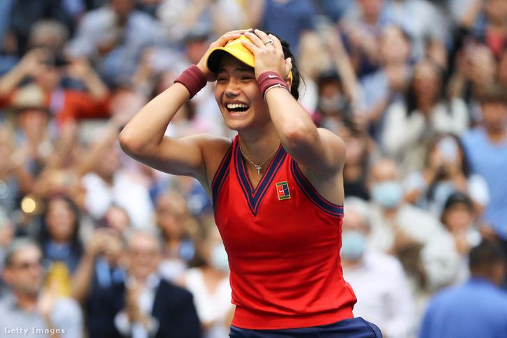 Raducanu az első US Openjét rögvest meg is nyerte