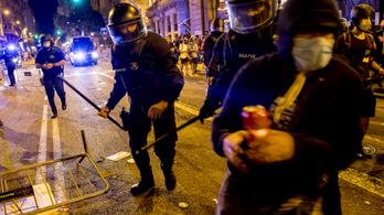 A katalán függetlenségért tüntettek Barcelonában