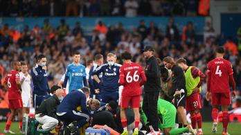 Horrorsérülés árnyékolta be a Liverpool sikerét