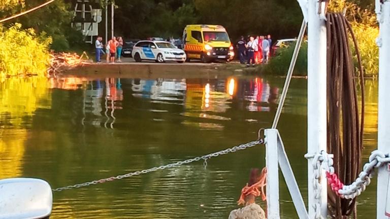Hajóbaleset a Tiszán, eltűnt egy ember