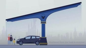 Kötelező lesz napelemmel fedni a parkolókat Franciaországban