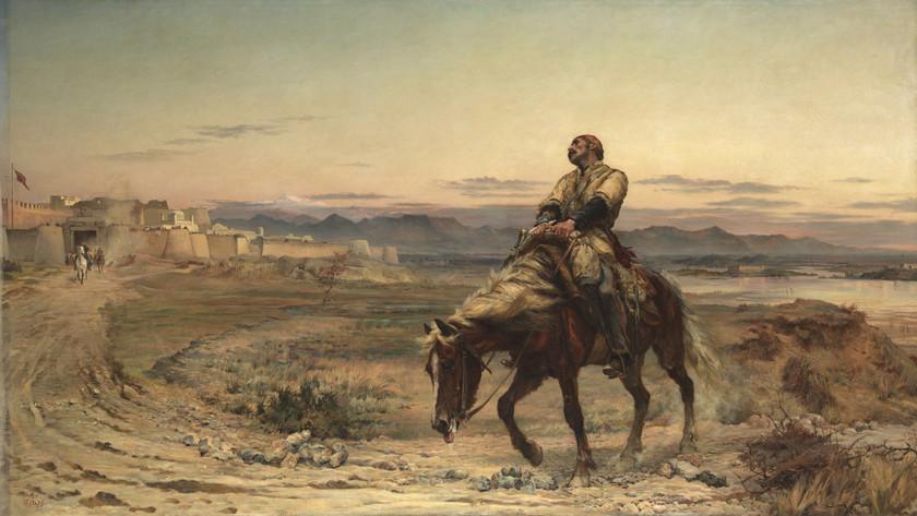 Az angol sereg, amelyből egyetlen ember maradt