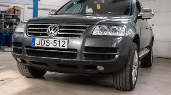 Fotelnepper: Volkswagen Touareg 2.5 R5 TDI – 2004.
