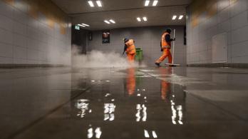 Bevásárolt az FKF, új gépekkel takarítanak a köztereken