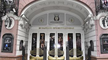 Friss nyomok az Operett előtt