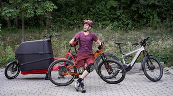 Egy bringával sem csak sportolni lehet