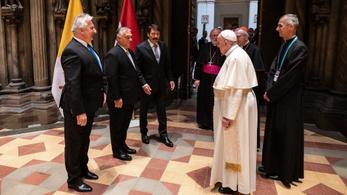 Orbán Viktor és Semjén Zsolt megmondta Ferenc pápának, hogy az Európai Unió megtámadta Magyarországot