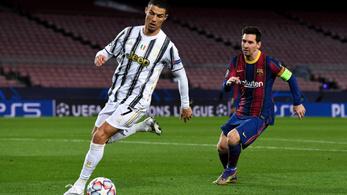 Messiékkel BL-favorit a PSG, C. Ronaldóék a 8. helyen