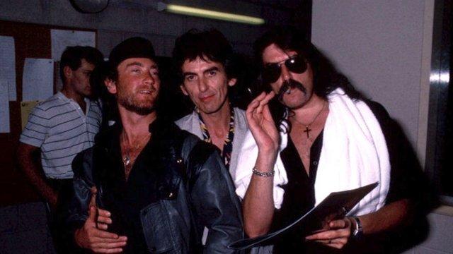 Amikor George Harrison a Deep Purple-lel zenélt