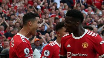 A Cristiano Ronaldo-hatás: Paul Pogba mégis maradna Manchesterben