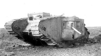 Ez volt a világ első tankja, amely rögtön fordított is a világháború menetén