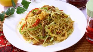 Vegán szingapúri tészta – ha egy könnyű, húsmentes fogásra vágysz