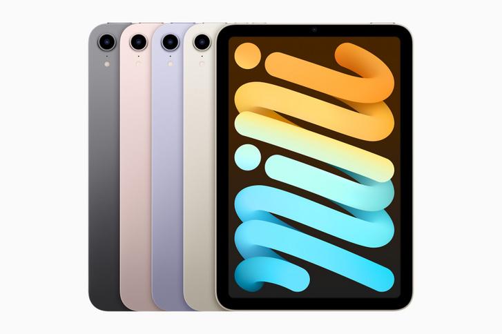 Apple iPad-mini colors 09142021