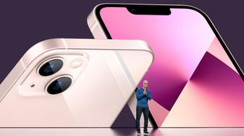 Íme, az iPhone 13