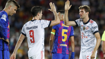 A Bayern ismét tönkreverte a Barcelonát