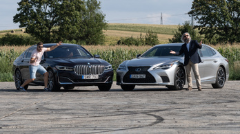 Összehasonlító teszt: BMW 740d xDrive vs. Lexus LS 500 h AWD
