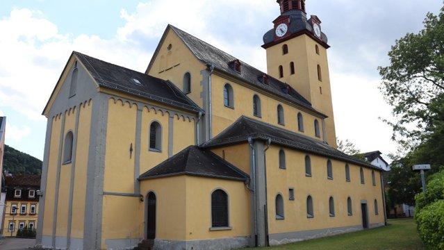 A Bad Ems-i templom