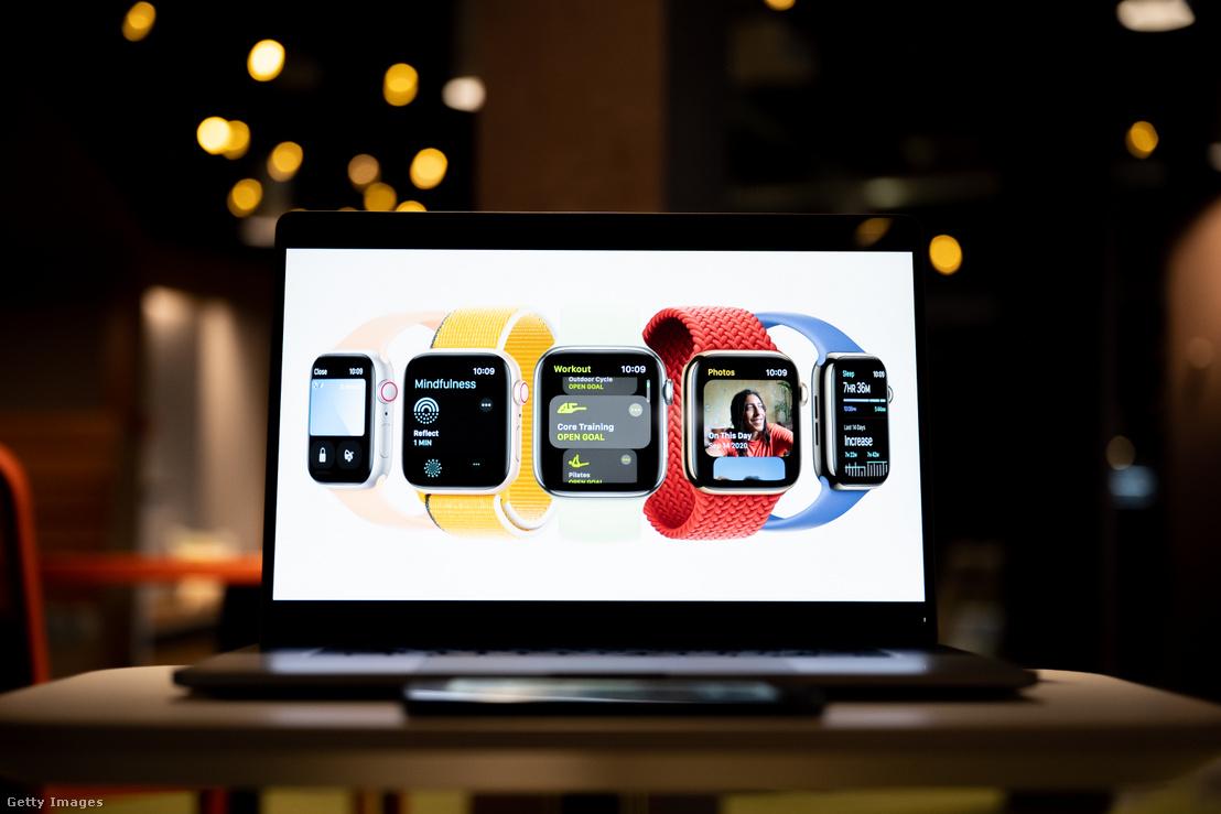 A nagyobb kijelzőn kívül nem kínál sokat az új Apple Watch Series 7