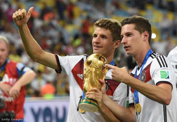 2014-ben világbajnok lett a válogatottal