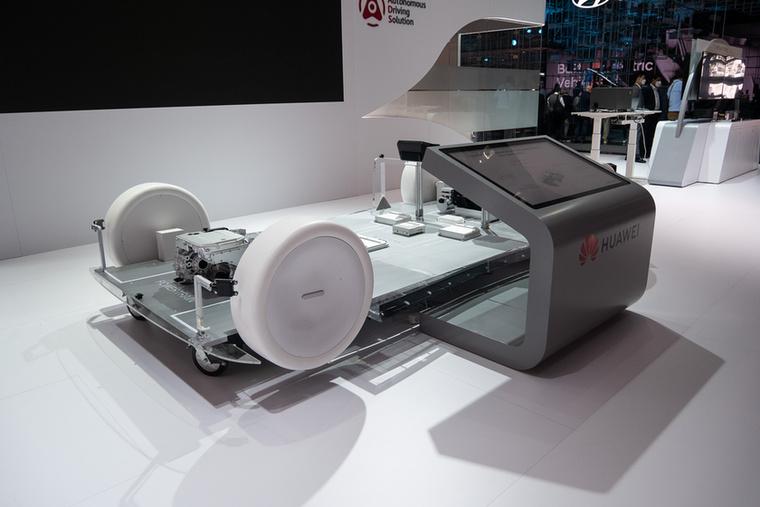 A Huawei jelezte: beszállna az elektromos autók részegységeinek a gyártásába is