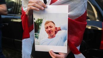 Nem adják ki a családnak a belarusz aktivista holttestét a kijevi hatóságok