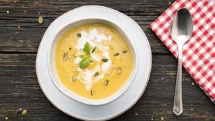 Ezt a remek, vegán édesburgonya-levest kezdőként is könnyen összedobod