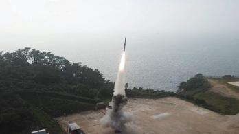 Dél-Korea sikerrel tesztelt egy tengeralattjáróról indított ballisztikus rakétát