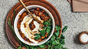 Görög kapros babragu – zöldségekkel, salátaként és egy nagy adag rizs tetején is megállja a helyét