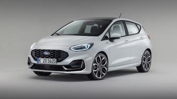 Így néz ki az új Ford Fiesta