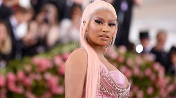 Nicki Minajt meghívták a Fehér Házba a vakcinaellenessége miatt