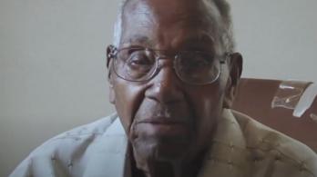 Felállt a tolószékéből, és táncra perdült a 112 éves világháborús hős