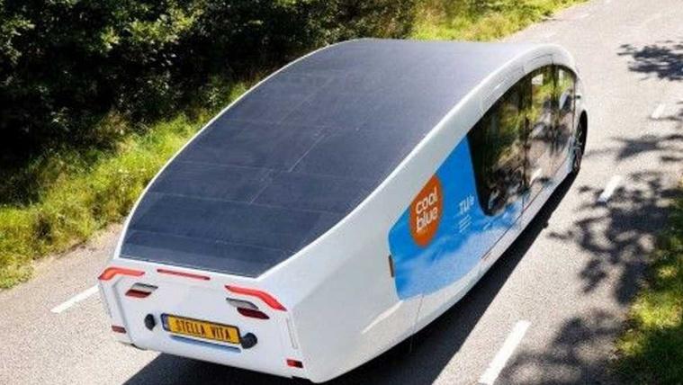 Napelemes lakóautót készítettek a holland egyetemisták
