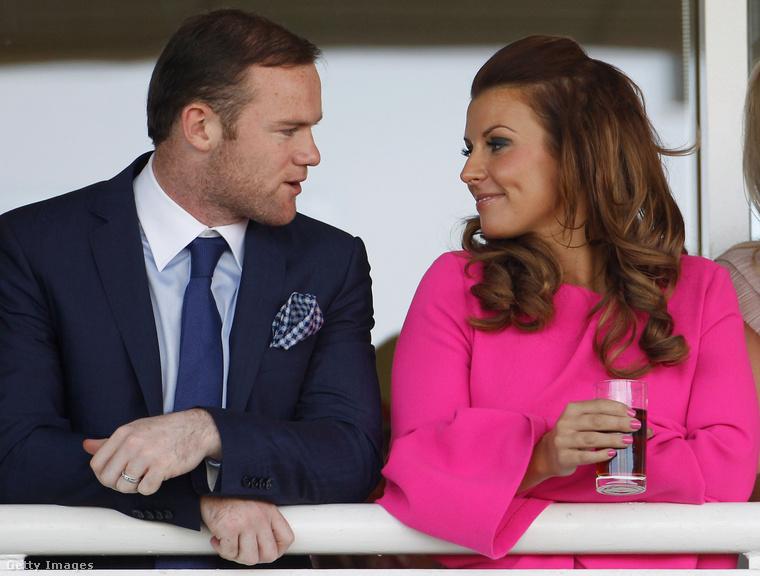 Coleen Rooney 2008-ban ment hozzá a gyerekkori szerelméhez, Wayne Rooney-hoz