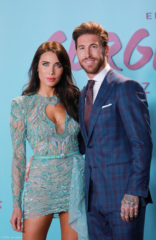 Pilar Rubio hét együtt töltött év után 2019-ben ment feleségül Sergio Ramoshoz, a Paris SG hátvédjéhez