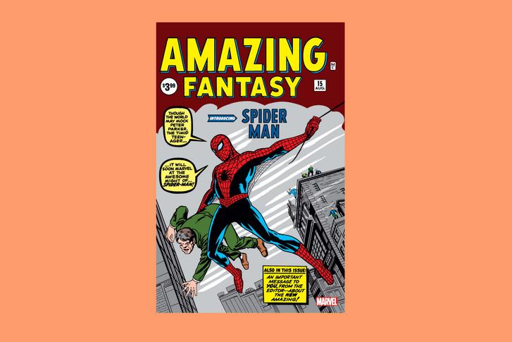Az Amazing Fantasy 15. borítója