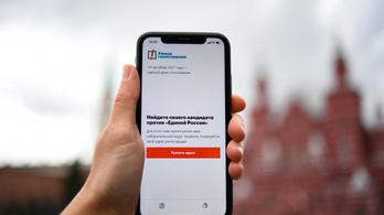 Orosz választások: még a mobilokról is eltüntették Navalnijt
