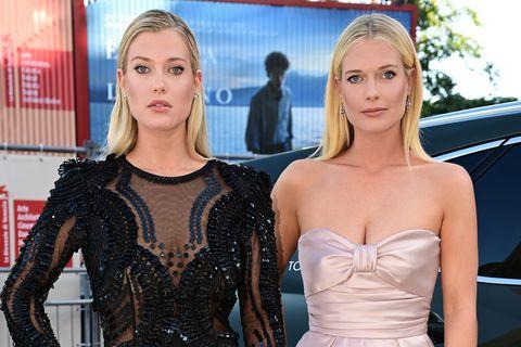 Ők Diana hercegnő gyönyörű iker unokahúgai: a 29 éves Amelia és Eliza Spencer sikeres modellek