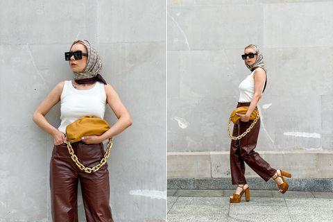Visszatért a '60-as évek legbájosabb trendje: idén ősszel így viseljük a fejkendőt - Retikül.hu