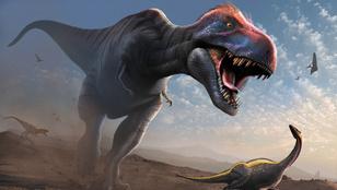 A T-Rexnél ötször nagyobb ragadozó dínót találtak