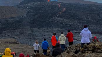 Fél éve működik egy vulkán Izlandon