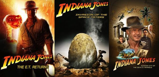 Kamuplakátok az Indiana Jones 5-höz