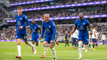 A Chelsea erőt demonstrált a Tottenham otthonában